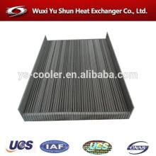 Alto rendimiento aluminio personalizado compresor aceite refrigerador núcleo fabricante