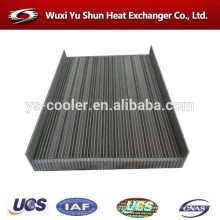 high performance aluminum customized compressor oil cooler core manufacturer