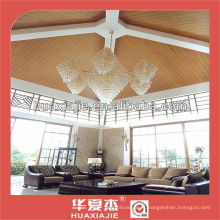 Conception de panneaux intérieurs décoratifs en paroi WPC