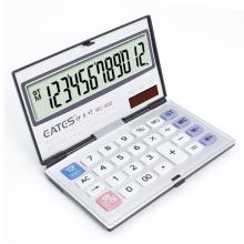12 digit promotion calculator/Aluminium calculator/OEM calculator foldable model