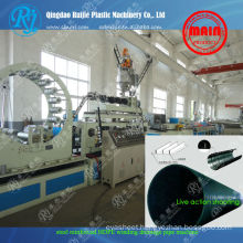 Spiral HDPE steel pipe machinery
