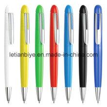 Bolígrafo personalizado de diseño exclusivo con clip de metal (LT-C684)