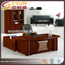 MDF office furniture 1.6m boss ceo office desk table with locking drawers