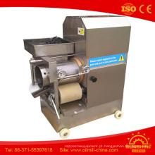 Máquina de descasque de carne de peixe Máquina de descasque de carne de peixe