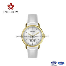 Simple Design Watch Leather Band Classical Watch