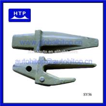 El nuevo reemplazo vendedor caliente mini excavador parte los tipos del diente del cubo para Sany 60028459