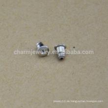 BXG037 Ohrringe Entdeckungen Ohr Sicherheitsrücken Original Farbe 304 Chirurgische Edelstahl Ohrnüsse