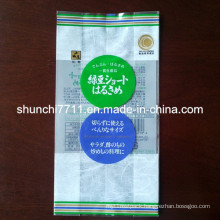 Back Sealed Food Packaging Bag with Gusset