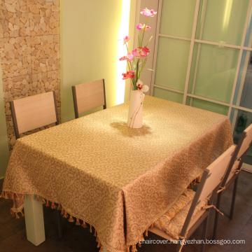 Jacquard Fabric Tassel Border Table Covers St110
