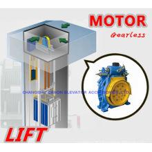 350-450KG à un aimant Permanent synchrone Gearless ascenseur MACHINE