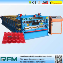 Glazed tile forming machine, glazed tile roofing sheet rolling machinery