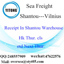 Shantou Port LCL Consolidation To Vilnius