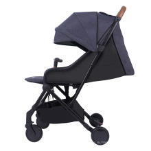 Коляска детская Легкие прогулочные коляски-ходунки с ручкой для переноски Серебряная рама Навес Дорожная сумка