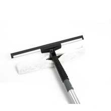 Microfiber And Telescopic Pole Flexible glass Window Squeegee For Cleaning