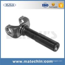 Steel Casting Transmission Spline Shaft U-Joint From China Manufacturer
