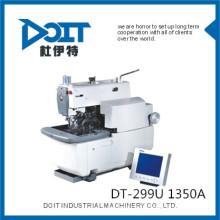 DT-299U 1350A Eletrônico Tack Keyhole Machine (corte antes, em seguida, costurar ou costurar antes de cortar)