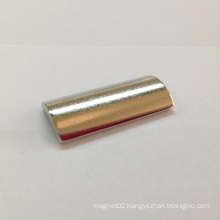 Arc Permanent Magnet with Ni Coating