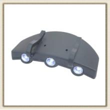 3 luz de Clip LED Cap (CL2P-A504 gengibre)