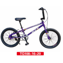 "20 ""Purple Fashion Design de BMX Freestyle Bicycle"