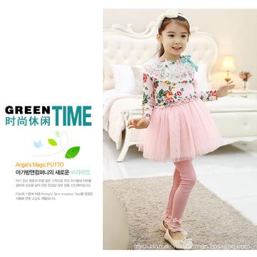 heiße Verkaufsbabys kleiden Hosen / koreanische Artmädchen kleiden Hosenhose an