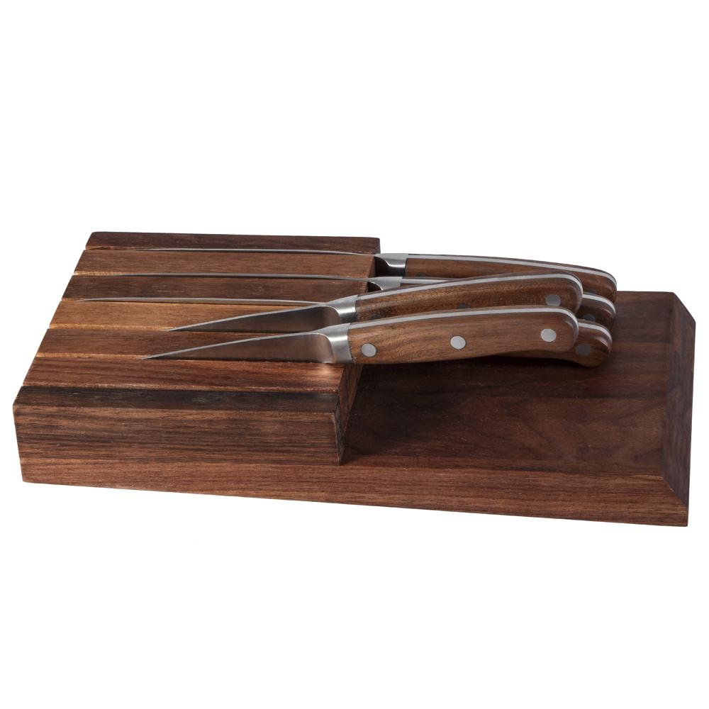 steak knife with bolster