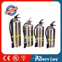 6kg Dry powder CE approved Stainless steel type Fire Extinguisher