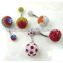 Anneaux magnétiques du nombril piercing bijoux
