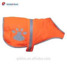 Venta al por mayor de la ropa reflexiva de la seguridad de la ropa del perro