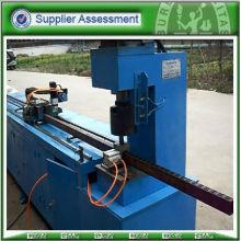 Automatic round pipe punching machine