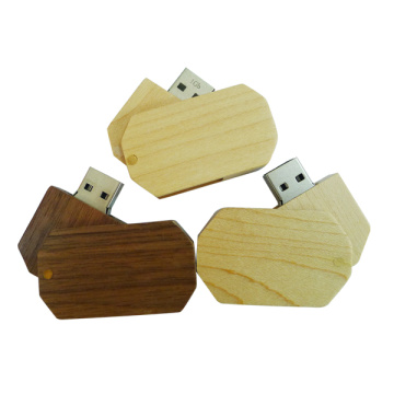 Memoria USB in legno Mini Pendrive Creative