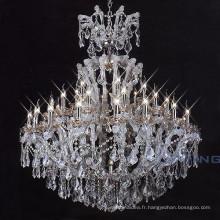Table de mariage chaîne en argent turc maria theresa lustre en cristal 81140