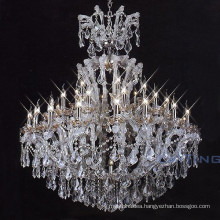 Wedding table silver chain turkish maria theresa crystal chandelier 81140