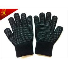 Acrílico invierno guantes de algodón
