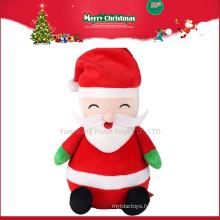 2017 Christmas Plush Big Musical Santa Claus Doll for Gift
