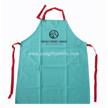 Custom Personalized Cotton Bib Aprons W/ Logo