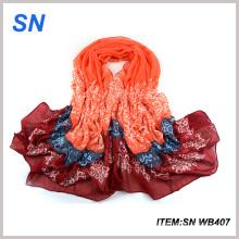 2015 Bufanda de moda al por mayor de la ventana del voile