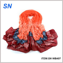 2015 Wholesale Fashionable Voile Window Scarf