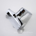 Sanitary ware wall mounted brass single handle shower faucet