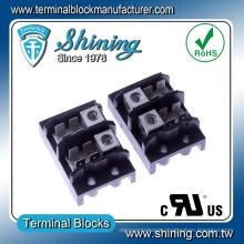 TGP-050-02A 600V 50A 2 Pole Quick Connect Aluminum Terminal Block