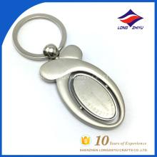 Custom logo metal chaveiro forma especial