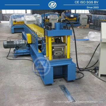 Máquina formadora de porta de obturador de rolo