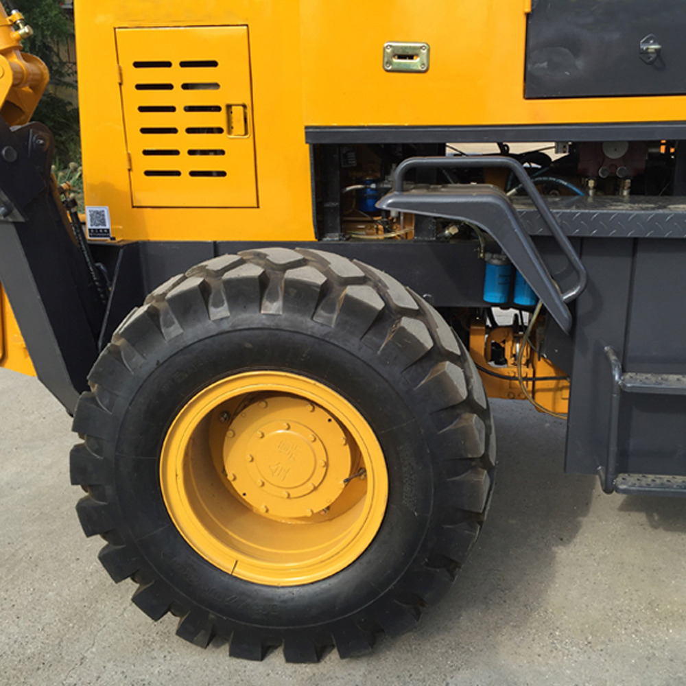 Wheel Backhoe Loader