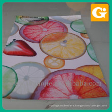 fruit advertisting banner, indoor hanging banners