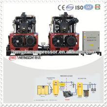 Máquina de soplado de PET de alta presión Compresor de aire de respiración de compresor de aire de 300 bares y para buceo