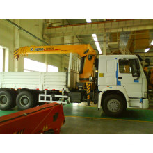 10t XCMG Truck Mounted Crane with Cargo Box