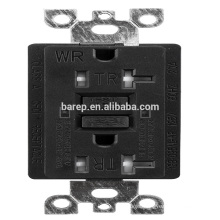 YGB-095NL-WR GFCI 20A tamper /weather resistance industrial electrical usa outlet socket receptacle designed for generators
