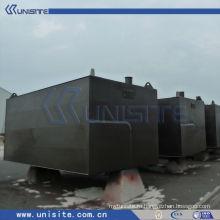 Понтонный дноуглубительный станок для катамаранов (USA009)