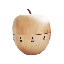Wood Apple Mechanical Countdown Timer