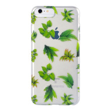 Green Plant Tree Background Phone Case for IMD iPhone 6S Plus Case