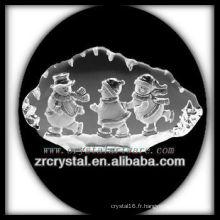 K9 Cristal Intaglio de Moule S003